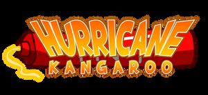 Hurricane Kangaroo Logo