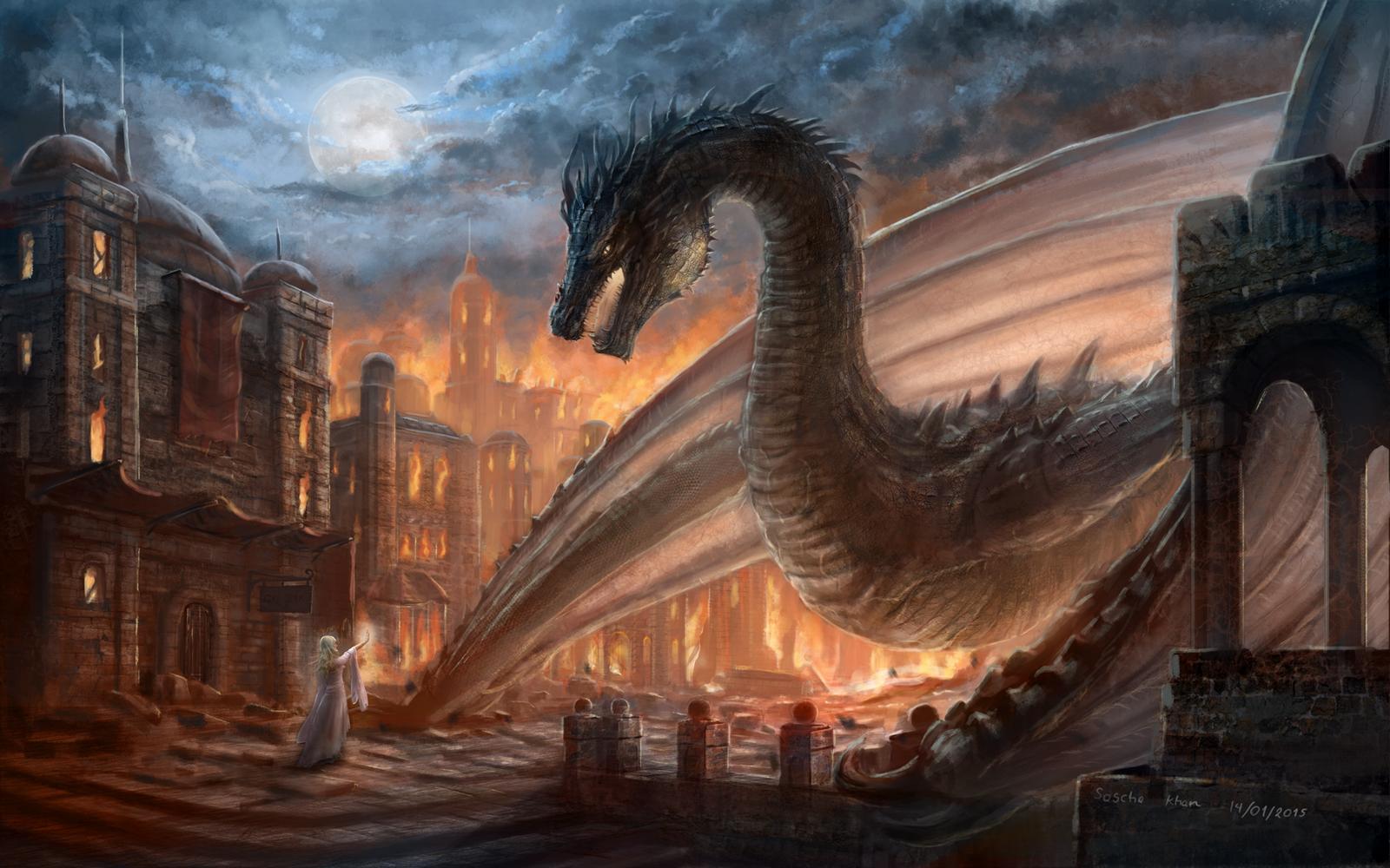 an Elegy of Fire by SaschaKhan