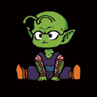 -Chibi Piccolo animation- by Namekgirl