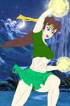 Marvel vs Street Fighter II Immortal Iron Sakura by CrossoverGeek