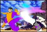 MvCI Juri Han vs Batroc the Leaper by CrossoverGeek