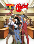 Marvel vs Capcom. Objection! new fanfiction cover by CrossoverGeek