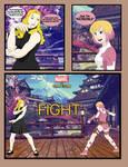 Marvel vs Capcom. Karin vs Gwenpool by CrossoverGeek