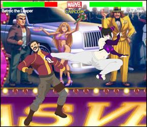 Marvel vs Capcom. Batroc the Leaper vs Juri Han by CrossoverGeek