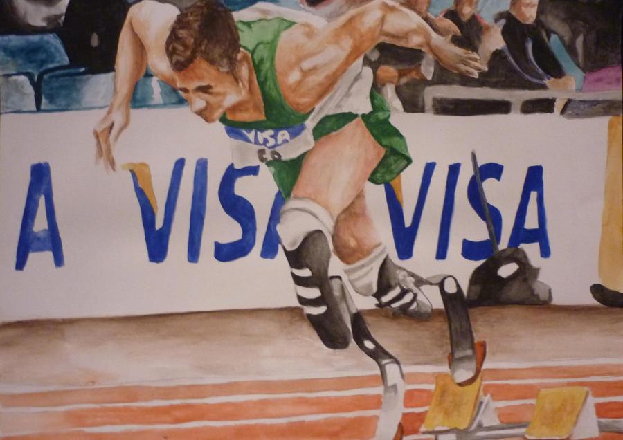 Running Man by jamysketches