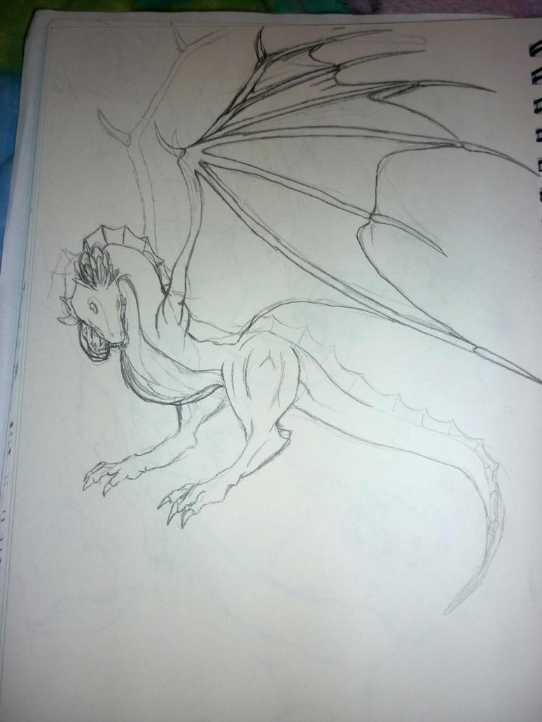 Dragon #3 by jamysketches