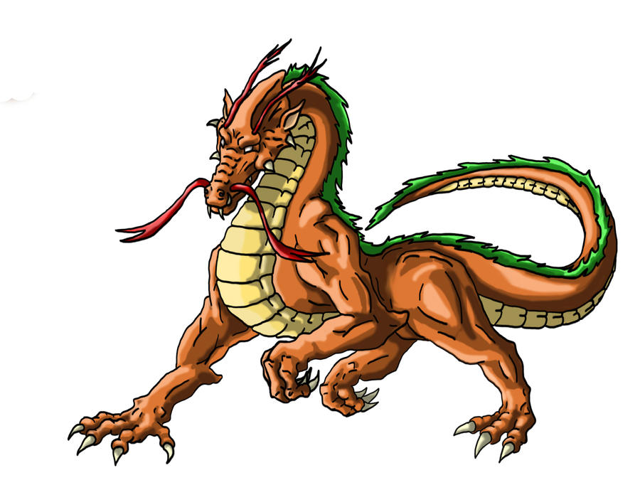 Dragon #1 Colour by jamysketches