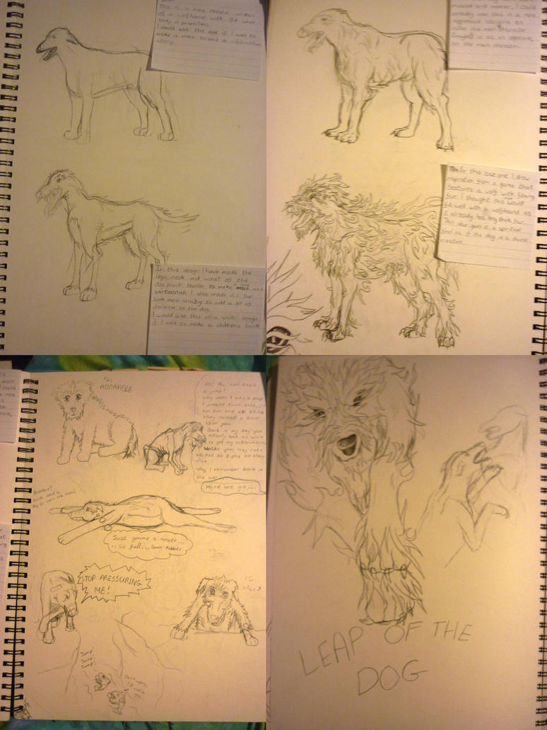 Just some pages from my sketchbook by jamysketches