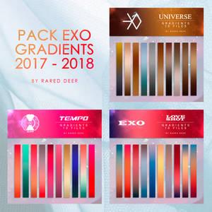 PACK 3 EXO GRADIENTS 2017-2018 by rared deer