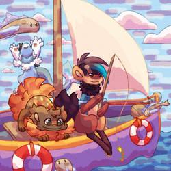 Fishing Trial - Rust Marlow And Merdog