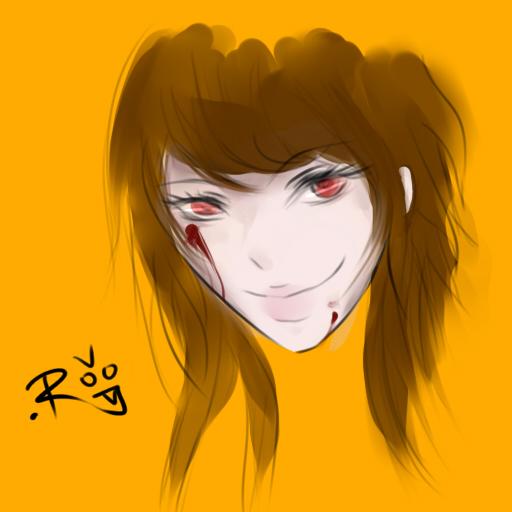 Some bloody chick by Pocky-jutsu