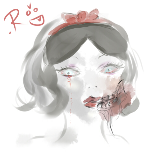 Zombie Snow White by Pocky-jutsu