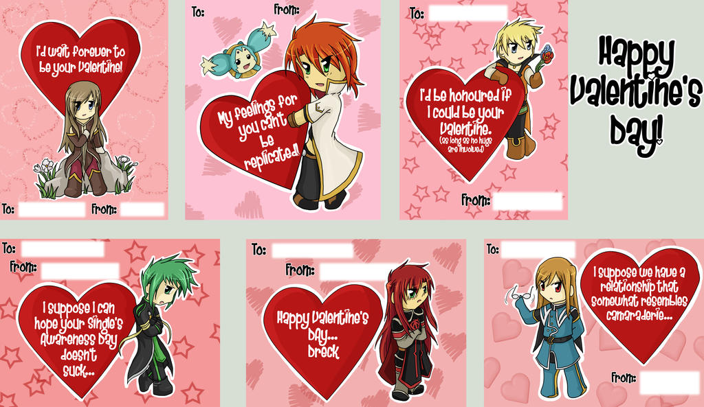 Valentine's Cards - Abyss by darkangel6 on DeviantArt