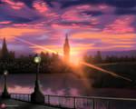 Metropolitan City - London UK Artwork