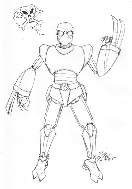 foot soldier tmnt coloring pages - photo#4