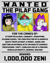 Wanted: The Pilaf Gang by bryesque