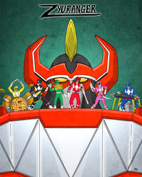 Zyuranger by bryesque