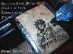 Monkey D Luffy tattooed