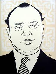Al 'Scarface' Capone by mondojohn