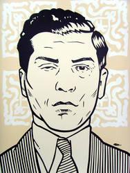 Charles 'Lucky' Luciano by mondojohn