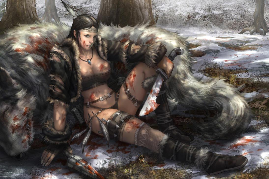 hunt girl