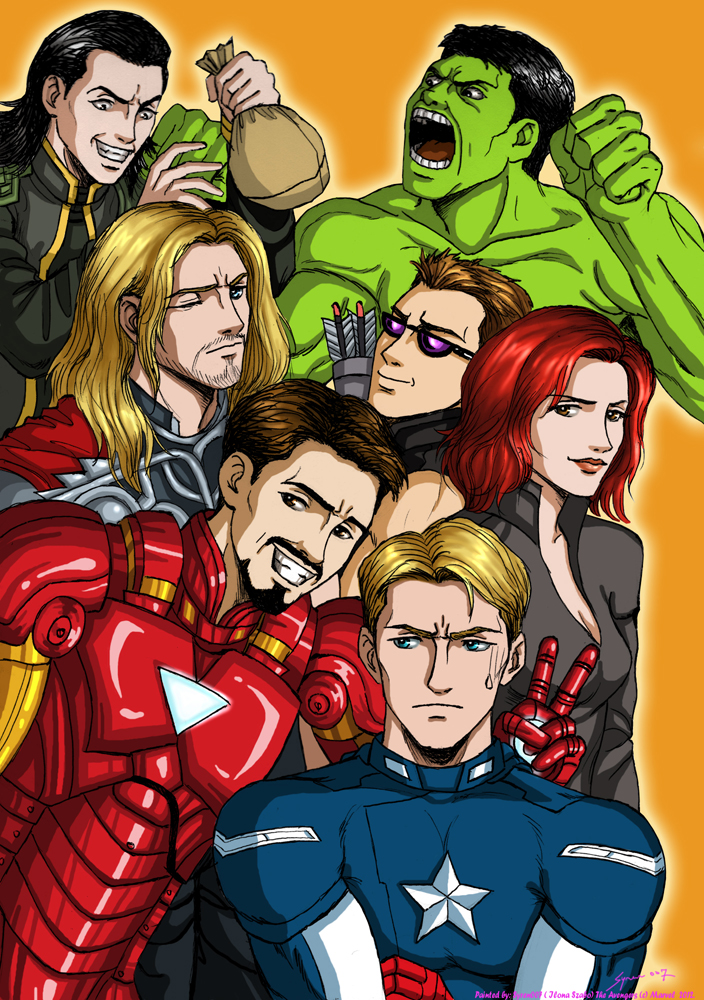 The avengers by syren007