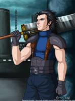 Final Fantasy VII- Zack Fair by syren007