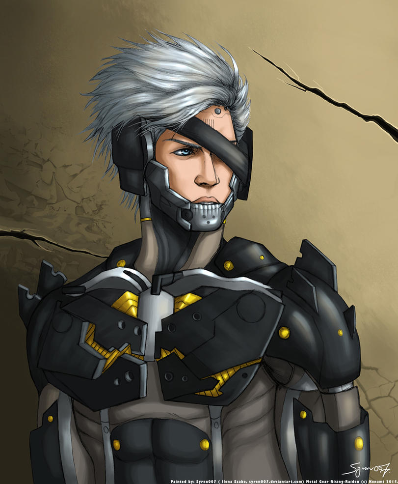 Metal Gear Rising Wallpaper: Metal Gear Rising Raiden By Syren007 On DeviantArt