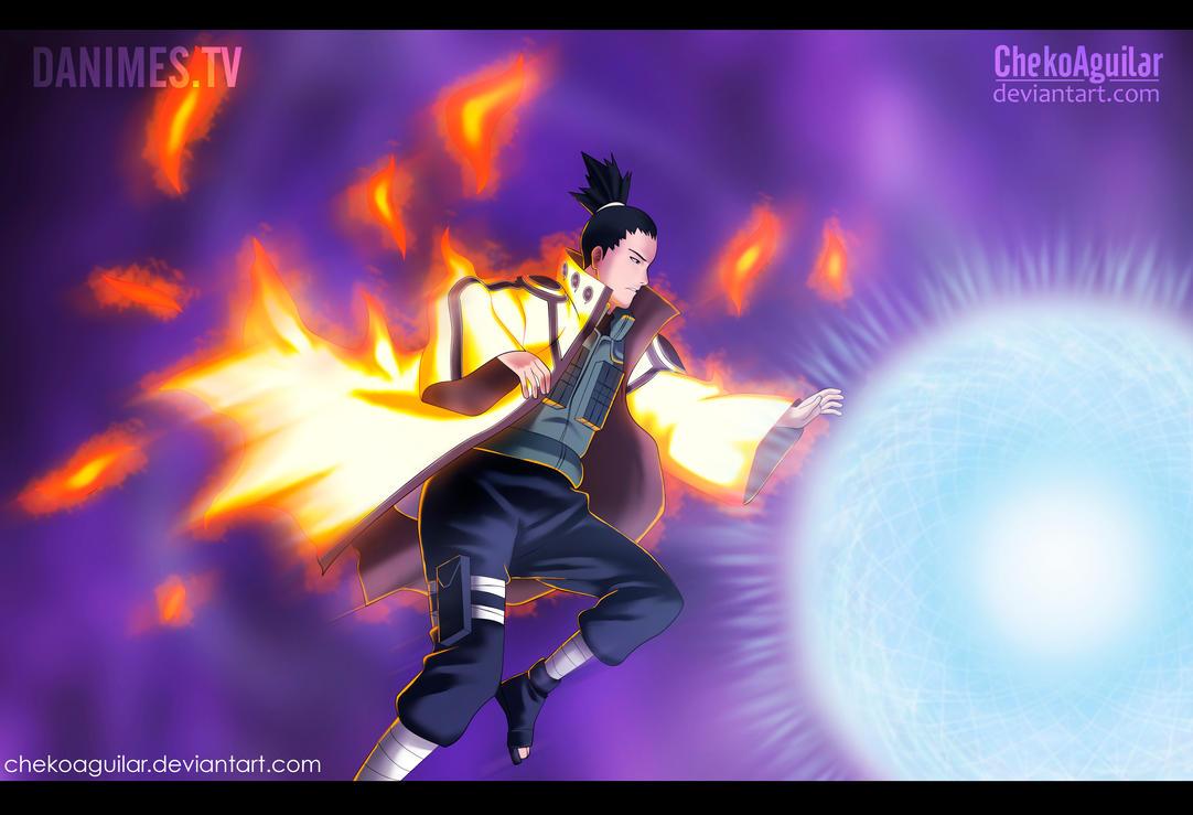 Naruto Manga 651 Shikamaru by ChekoAguilar