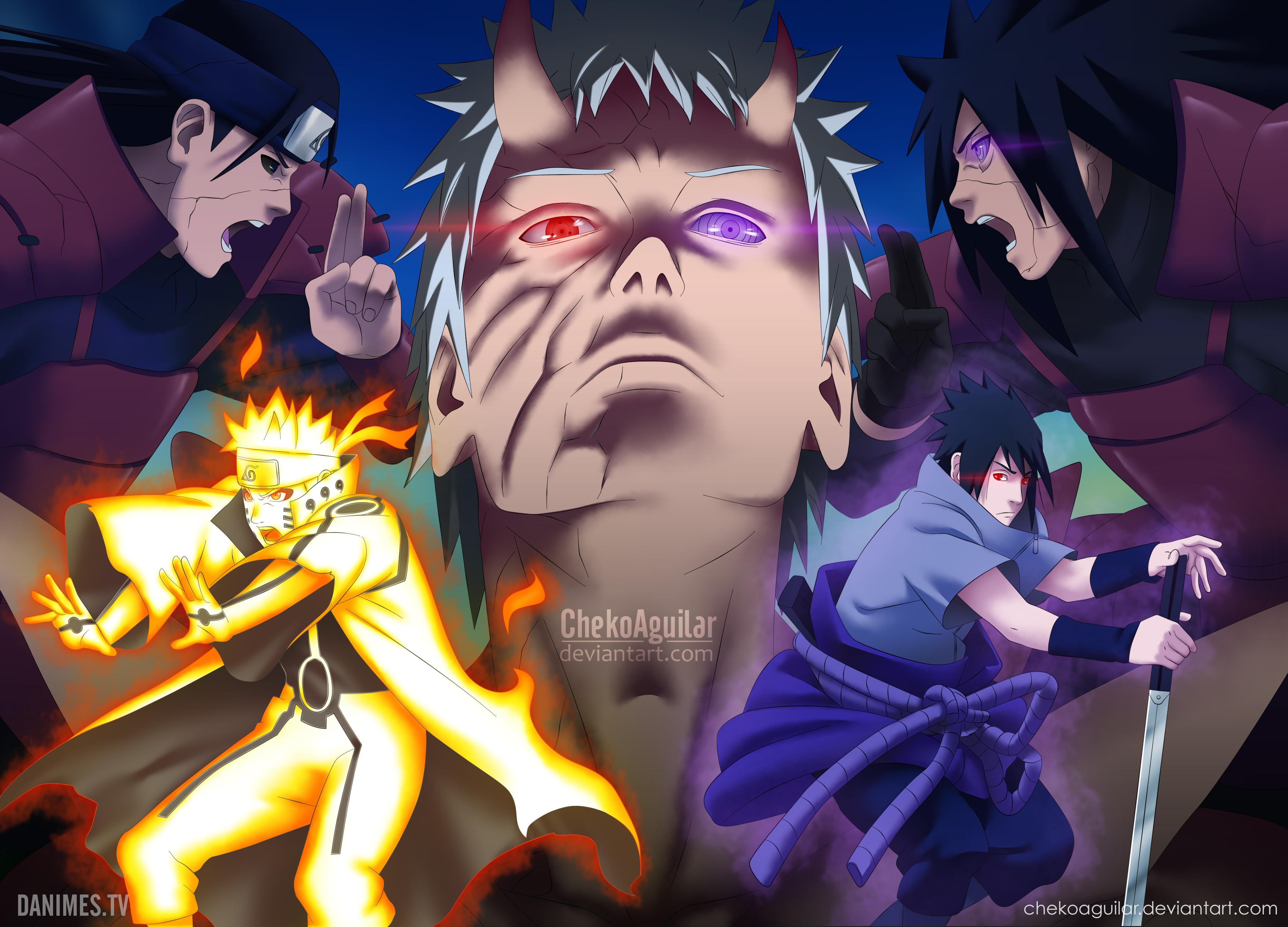 Naruto Manga Cover 14 years of Naruto by ChekoAguilar