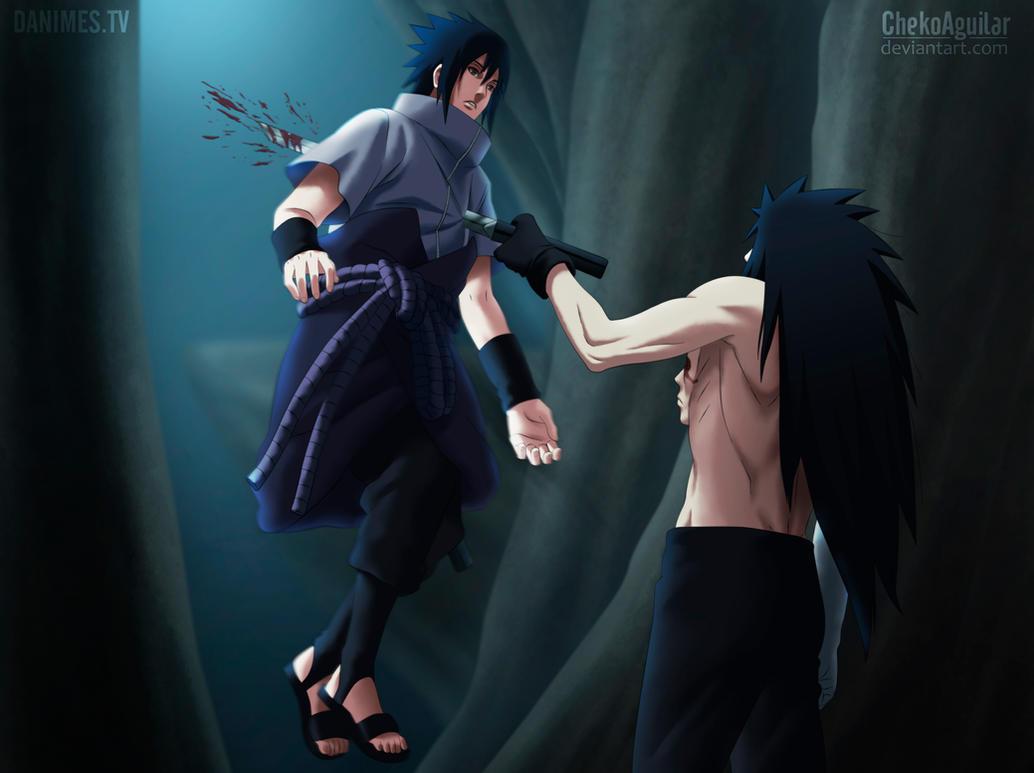 Scans no jutsu !  - Page 7 Naruto_manga_661__sasuke_vs_madara_by_chekoaguilar-d72frcv