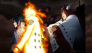 Naruto Manga 681 Kaguya's attack