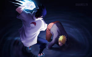 Naruto Manga 697 Naruto vs Sasuke 4 by ChekoAguilar
