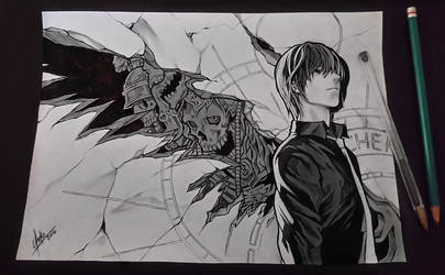 Kira from Death Note by ChekoAguilar