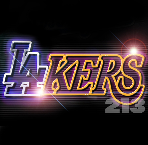 LAKERS DODGERS by tdf22 on DeviantArt