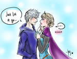 Jack Frost and Elsa: Let it Go