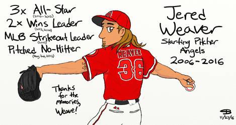 Jered Weaver Tribute