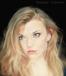 Natalie Dormer Digital Painting by XenuxZero