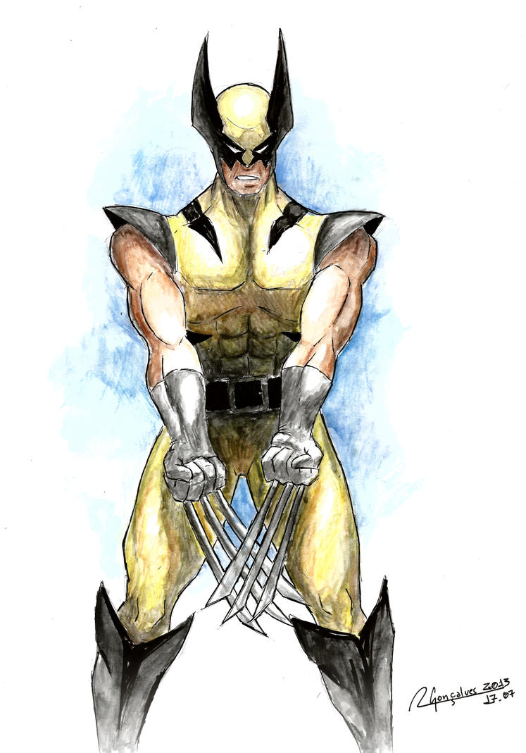 Wolverine by ohayo-otaku