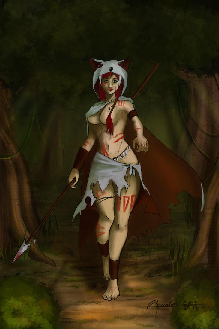 WolfSlayer by ohayo-otaku