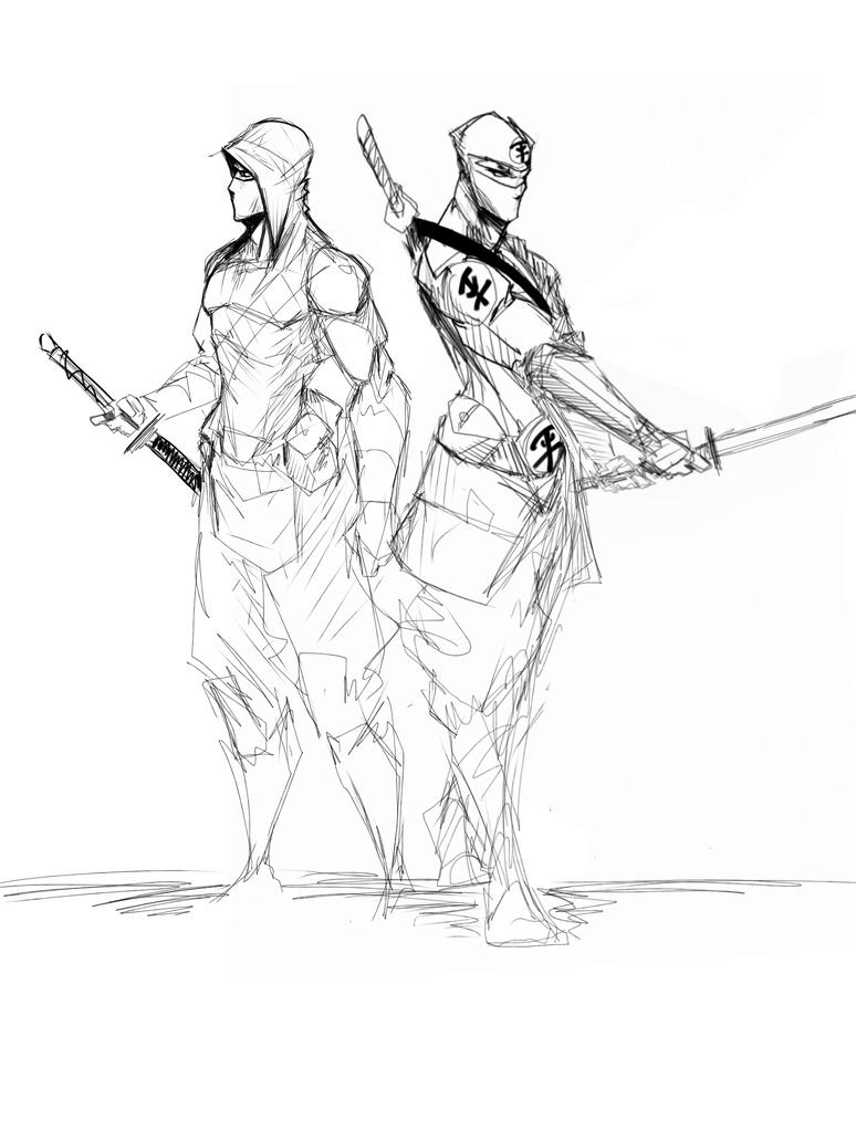 Character Design Books Download : Equalist ninjas by sketchydeez on deviantart