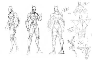 Batman Character Study