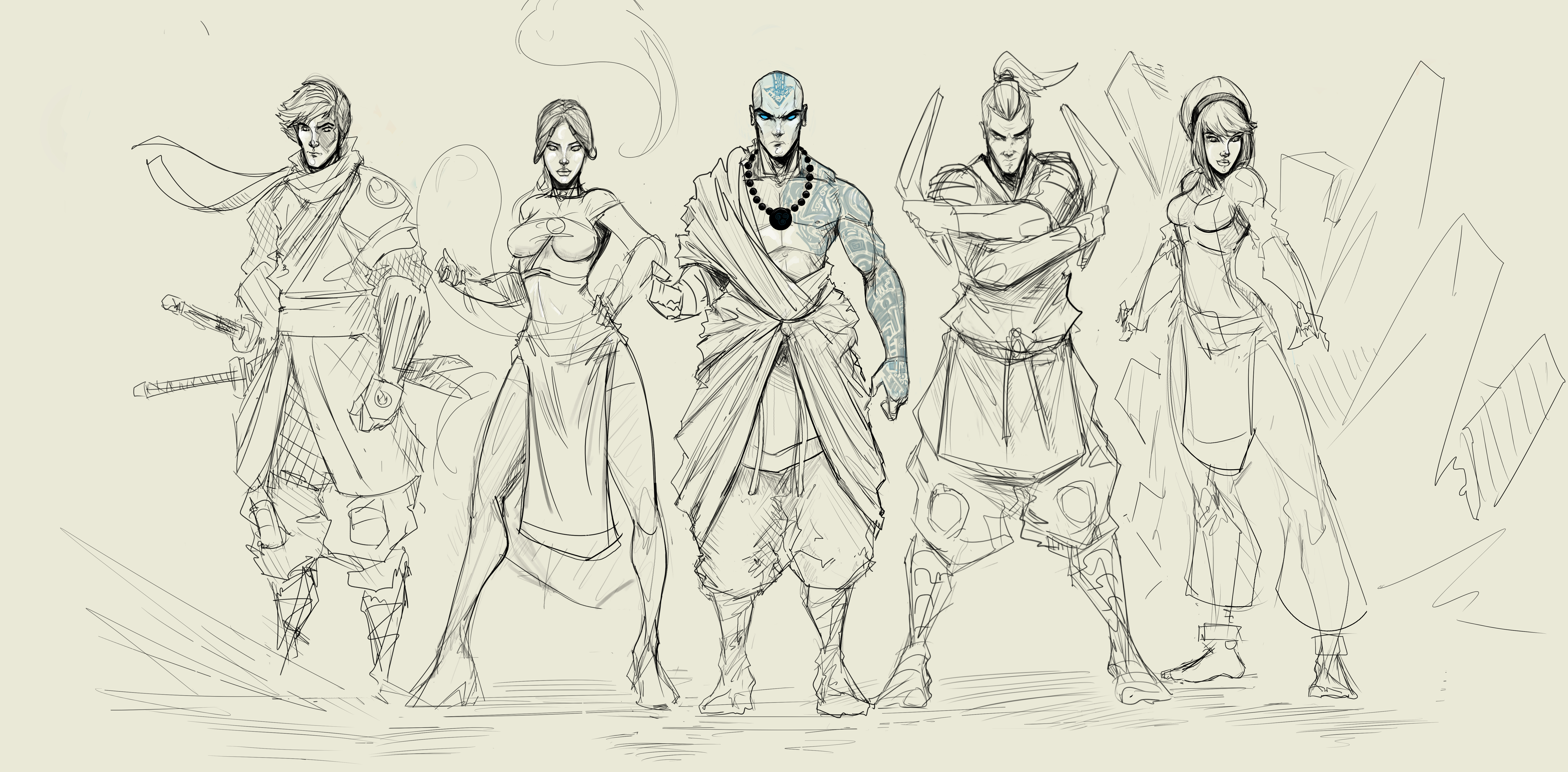 Og Team Avatar Full Wip 2 by Sketchydeez