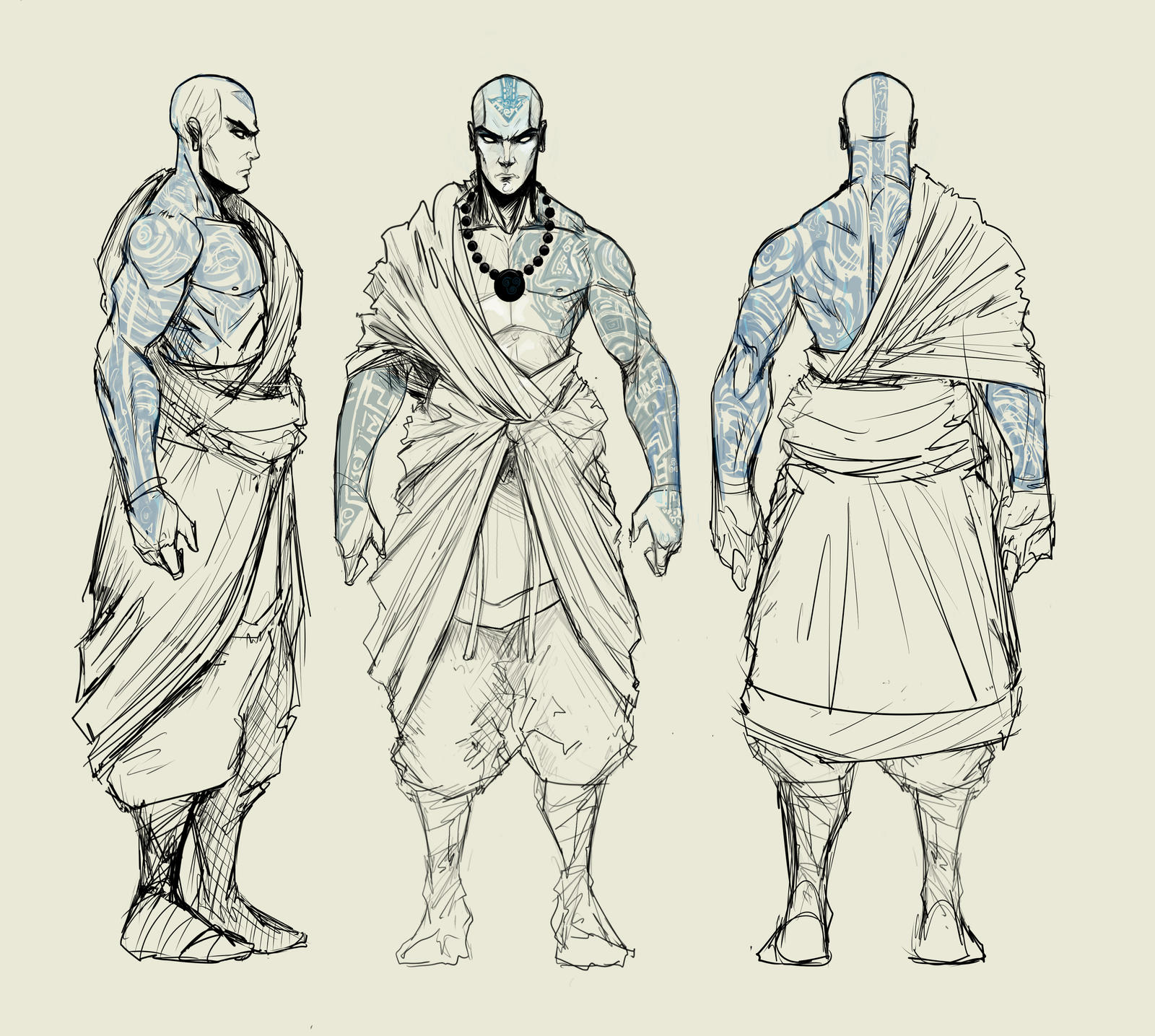 adult avatar aang turnaround by Sketchydeez on DeviantArt: sketchydeez.deviantart.com/art/adult-avatar-aang-turnaround-485287072