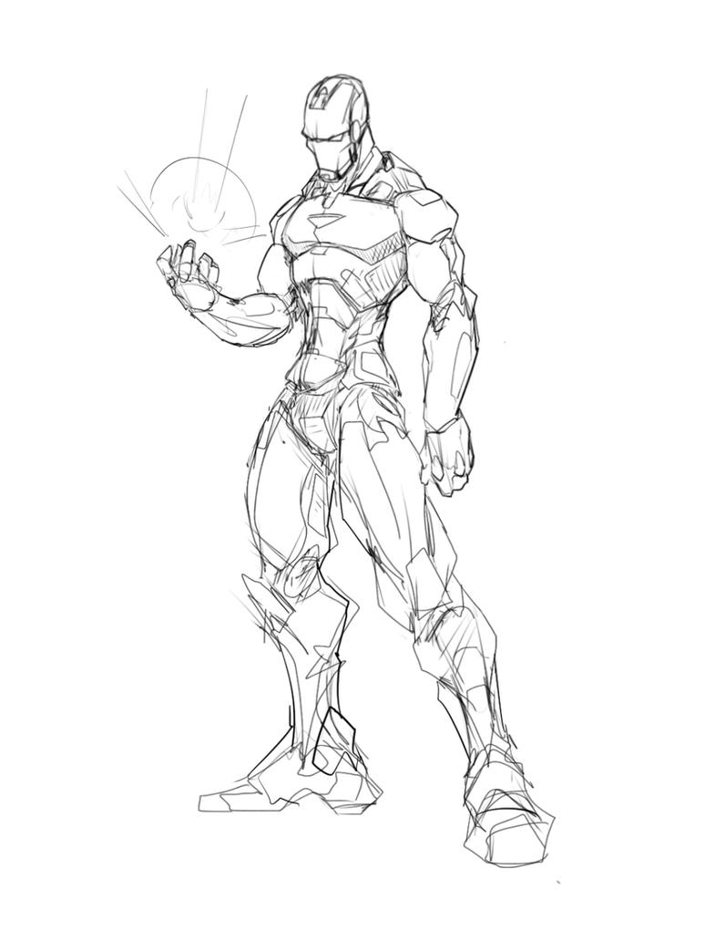 Ironman by Sketchydeez on DeviantArt