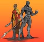 Black Panther okoye
