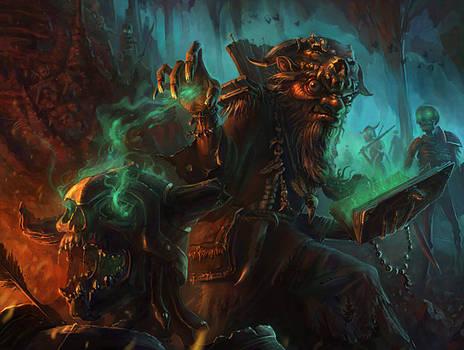 goblin necromancer