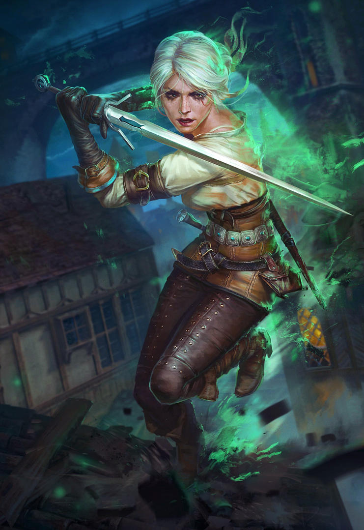 Ciri by paveltomashevskiy on deviantart for Buy digital art online