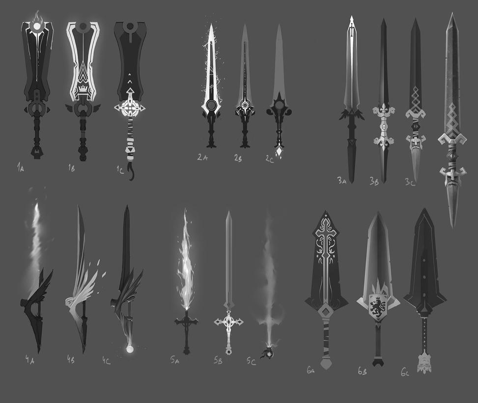 Swords exploration by PavelTomashevskiy