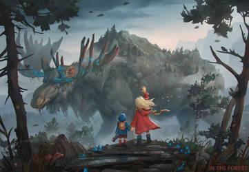 In the forest by PavelTomashevskiy